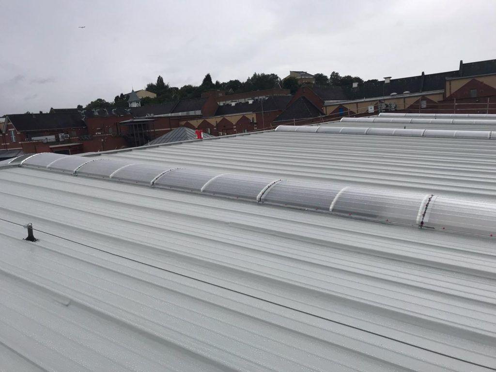 Delcote Commercial Roof Refurbishment